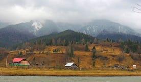 Herbstwolken Stockfoto