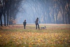 Herbstzeit Lizenzfreies Stockfoto