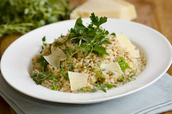 Herby risotto Royalty Free Stock Image