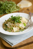 Herby risotto Stock Photography
