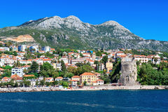 Herceg Novi, залив Kotor, Черногория Стоковая Фотография RF