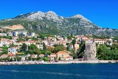 Herceg Novi, baie de Kotor, Monténégro Photographie stock libre de droits