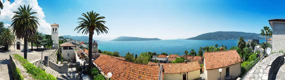 Herceg-Novi city Stock Photography