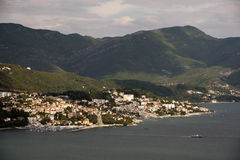 Herceg Novi - coastal town in Montenegro located at the entrance to the Bay of Kotor Royalty Free Stock Photo