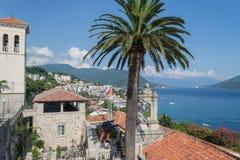 Herceg Novi Montenegro Royalty-vrije Stock Afbeelding