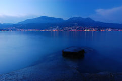 Herceg Novi. Montenegro. Evening city of Herceg Novi in Montenegro Royalty Free Stock Photo