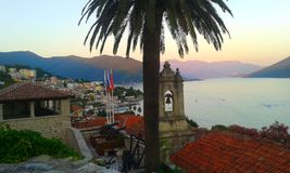 Herceg Novi, Montenegro stock images