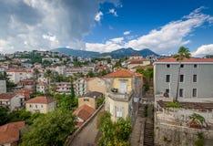 Herceg Novi old town Stock Image