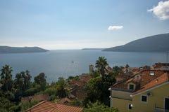 Herceg Novi, słońce dni Fotografia Stock