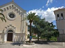 Herceg Novi - stad van duizend treden Royalty-vrije Stock Foto's
