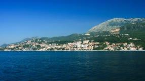 Herceg Novi - town at Montenegro Royalty Free Stock Photo
