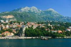 Herceg Novi - town at Montenegro Stock Images