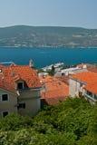 Herceg Novi y bahía de Kotor. Fotos de archivo libres de regalías