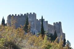 Herceg Stjepan`s medieval fortress in the Blagaj. Bosnia and Herzegovina royalty free stock photos
