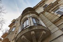 Hercher de las casas en estilo italiano Foto de archivo libre de regalías