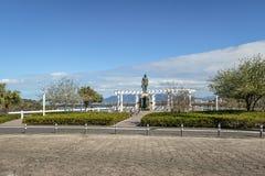 Hercilio Luz kwadrata punkt widzenia - Florianopolis, Santa Catarina, Brazylia Obrazy Stock