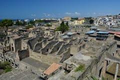Hercolaneum stary rzymski ruine zdjęcia stock