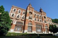 Herculane hotel ruin Stock Images