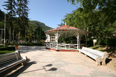 Herculane resort, Romania Royalty Free Stock Photo