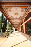 Herculane resort, Romania. Herculane Baths (Baile Herculane in Romanian Language) is a hot spring resort in Romania. The baths were discovered by Romans but the Royalty Free Stock Photo