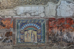 Herculaneum Obraz Stock