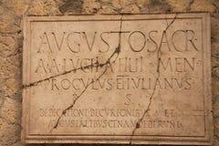 herculaneum стоковое фото rf