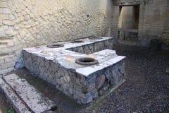 herculaneum стоковое изображение rf