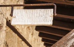 herculaneum Fotografia Stock