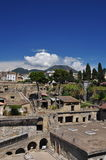 Herculaneum archaeological site by Naples, Italy. Royalty Free Stock Images