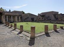 Herculaneum bath house Stock Photos