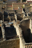 Herculaneum Buildings Royalty Free Stock Image