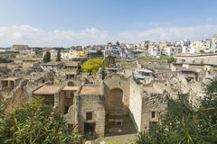 Herculaneum and Ercolano Royalty Free Stock Photo