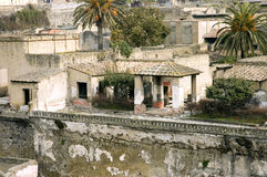 Herculaneum excavations details Stock Photo