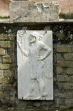 Herculaneum fresco of man stock photography