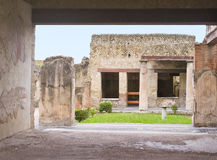 Herculaneum Home, Italy Stock Photo