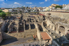 Herculaneum,Naples Italy Royalty Free Stock Images