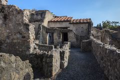 Herculaneum,Naples Italy Royalty Free Stock Photos