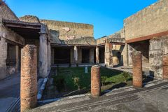 Herculaneum, Naples Italy Royalty Free Stock Photos