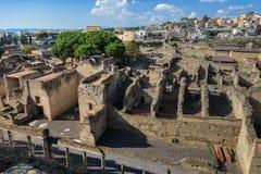herculaneum Napoli, Italia fotografia stock libera da diritti