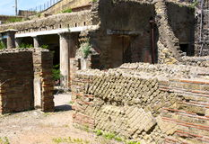 Herculaneum-oud juweel-I-Italië Stock Foto