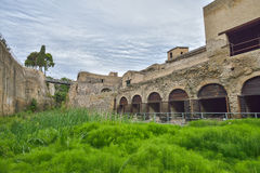 Herculaneum ruins, Naples, Italy. Royalty Free Stock Image