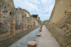 Herculaneum ruins, Naples, Italy. Stock Photography