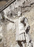 Herculaneum statue Royalty Free Stock Photos