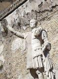 Herculaneum statue Royalty Free Stock Photos