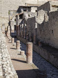 Herculaneum street Royalty Free Stock Photography
