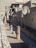 Herculaneum street Royalty Free Stock Photography