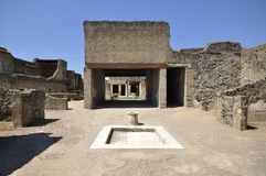 Herculaneum Villa Remains Royalty Free Stock Images