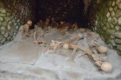 Herculaneum WŁOCHY, CZERWIEC, - 01: Herculaneum miasta antyczne rzymskie ruiny, Włochy na Czerwu 01, 2016 Fotografia Stock