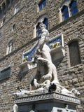 Hercule et Cacus Image libre de droits