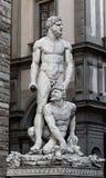 Hercule et Cacus photo stock